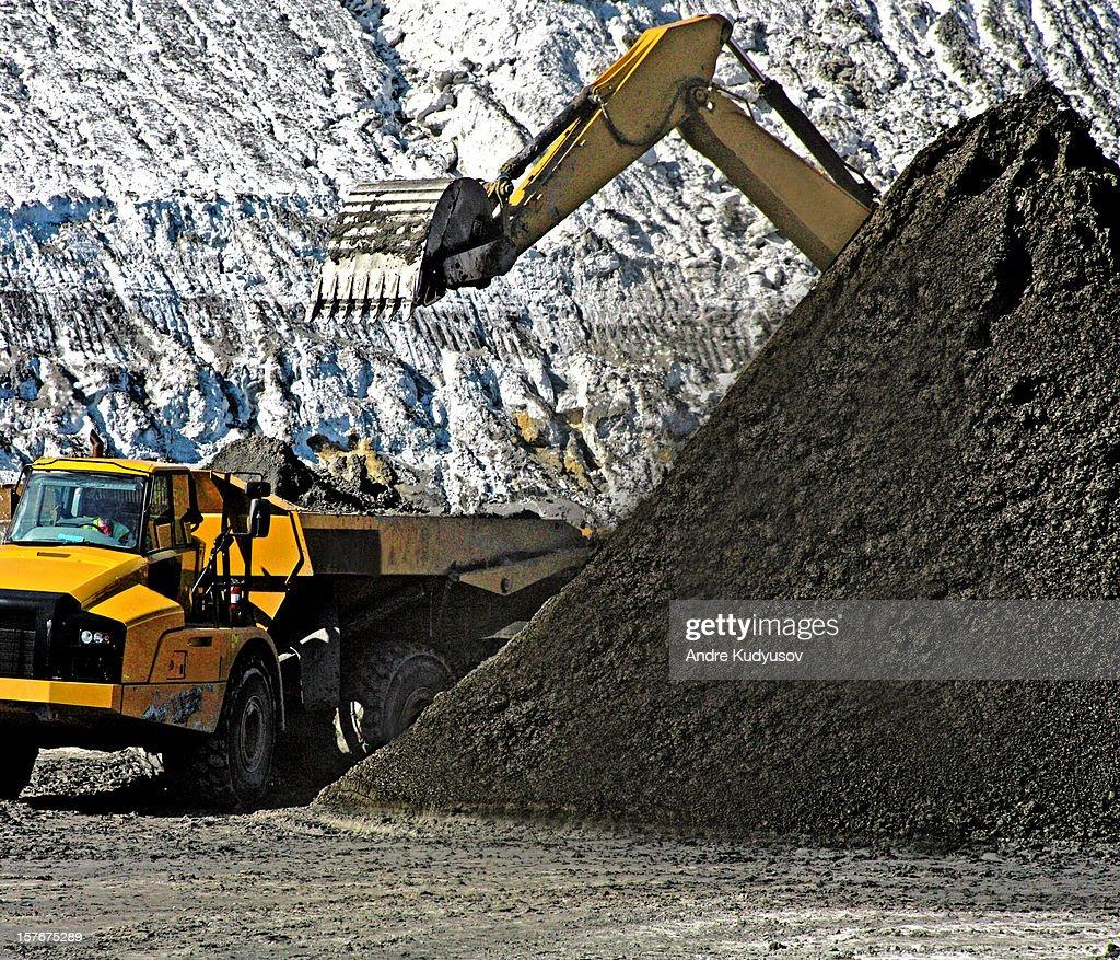 Coal mining industry : Stock Photo
