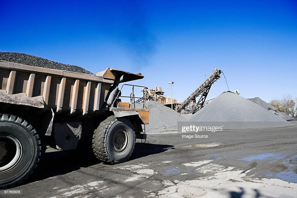 Coal mining : Stock Photo