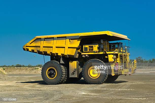 Coal Mining Truck in the yard