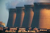 Coal-fired power station,Ferrybridge,UK