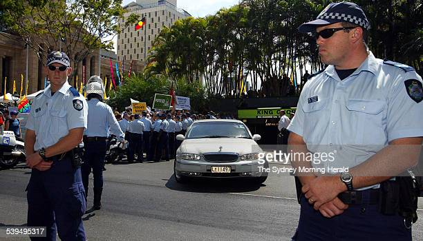 Coalition Liberal Party and National Party Federal Election Campaign Launch at City Hall Brisbane Queensland on Sunday 26 September 2004 Image shows...