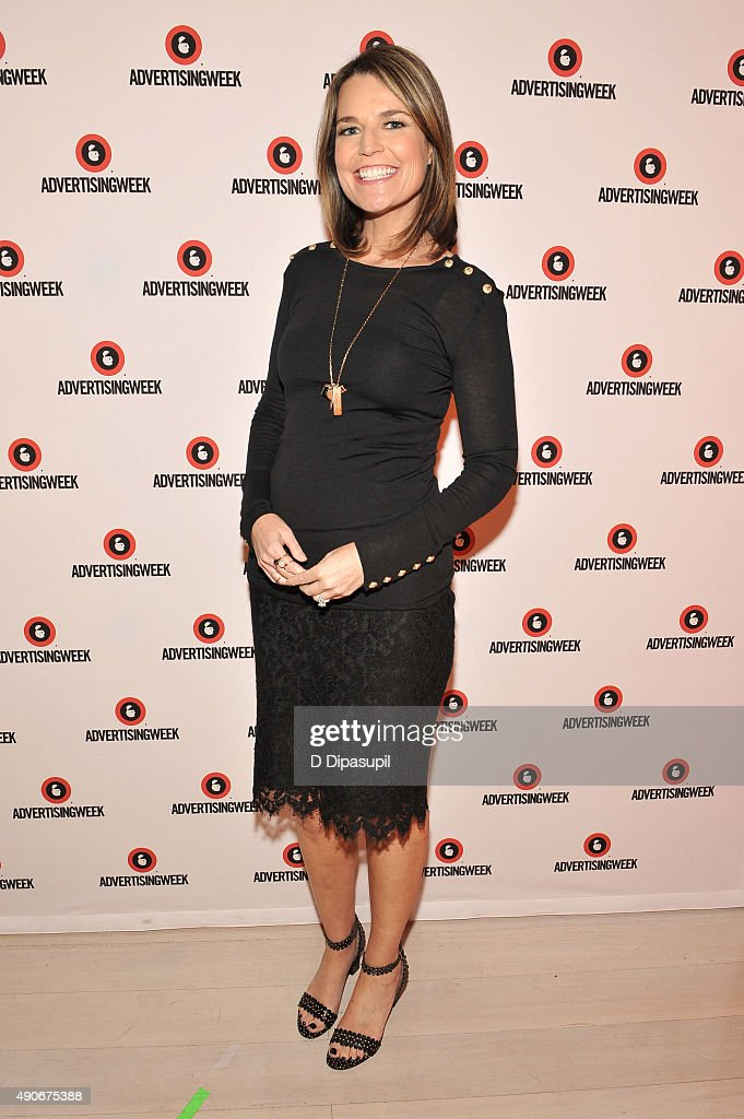 """CoAnchor of """"Today"""" and NBC News Chief Legal Correspondent NBC News Savannah Guthrie poses at the Road to the 2016 Election A Campaign Preview panel..."""