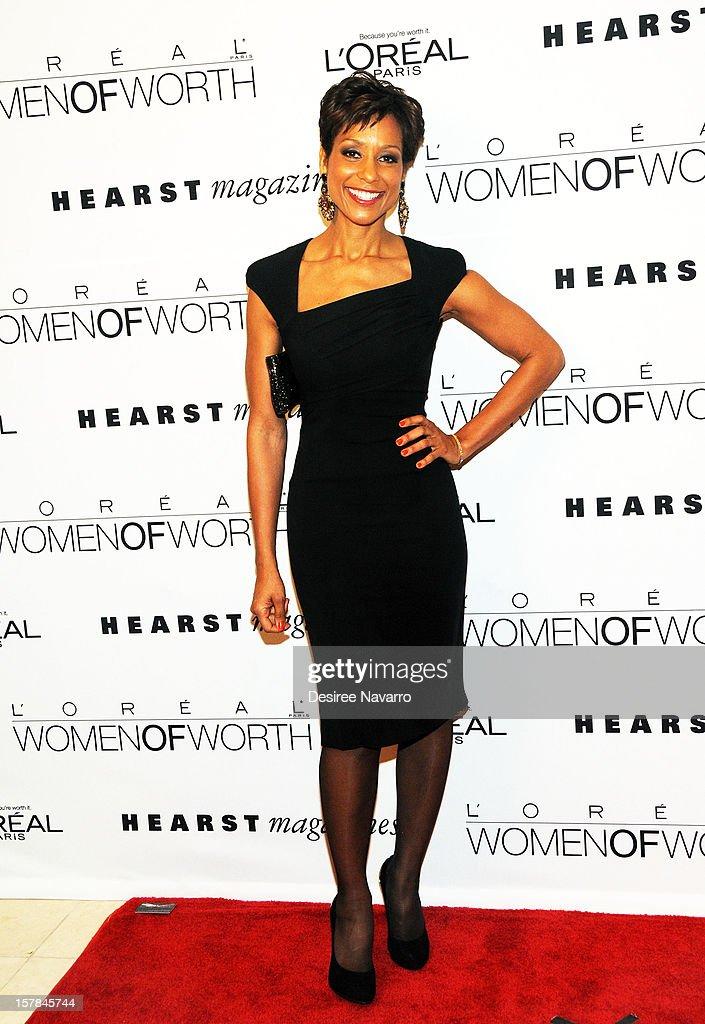 TV co-anchor Sade Baderinwa attends the 7th annual Women of Worth Awards at Hearst Tower on December 6, 2012 in New York City.