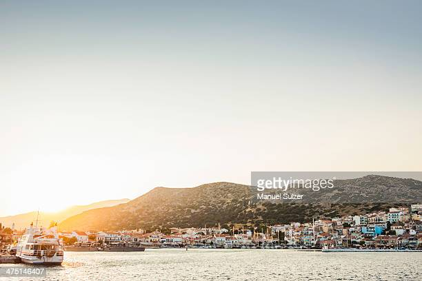 Coast at Pythagoreio, Samos, Greece
