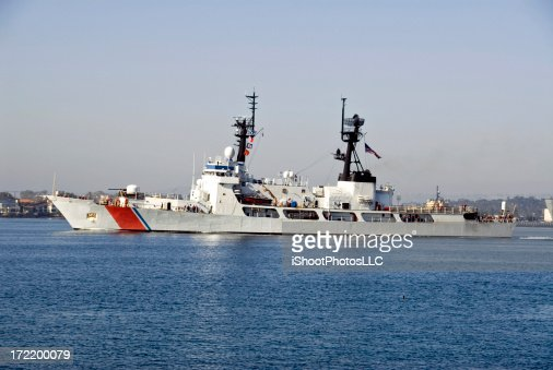 US Coast Guard Ship