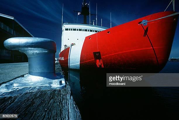 US coast guard ship, Port Melbourne, Victoria, Australia