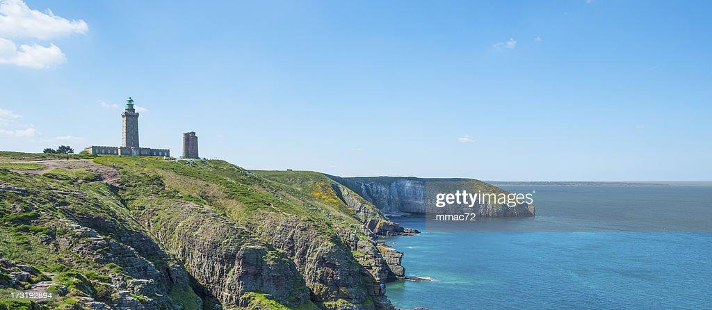 Coast in Britanny, France