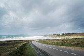 Road to the coast of Bretagne