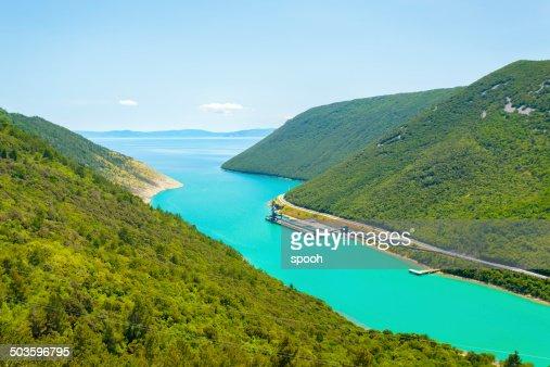 Coast of Istria, Croatia
