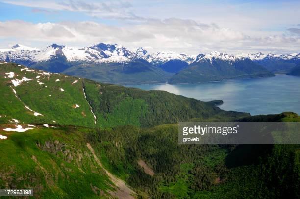 Coastal Alaska and the Taku inlet.