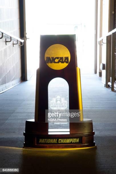 Coastal Carolina University takes on the University of Arizona during the Division I Men's Baseball Championship held at TD Ameritrade Park in Omaha...
