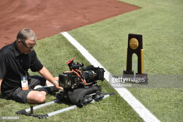 Coastal Carolina University takes on University of Arizona during the Division I Men's Baseball Championship held at TD Ameritrade Park in Omaha NE...