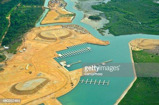 Coastal Development : Stock Photo