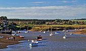Coastal harbour scene