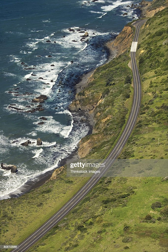 Coastal highway,  California,  USA