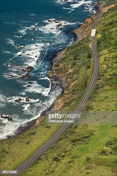 Coastal highway,  California,  USA