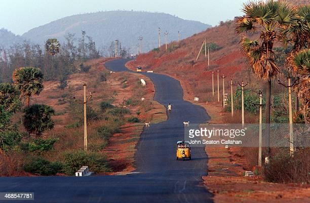 Coastal highway in Andra Pradesh