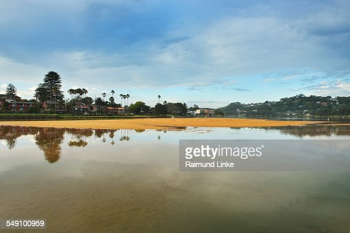 Coastal Lake in the Morning