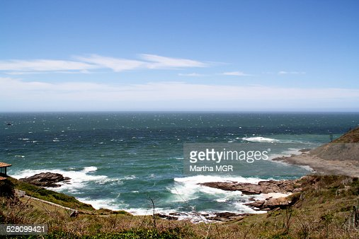 Coastal ocean in Búzios