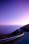 Coastal road, CA