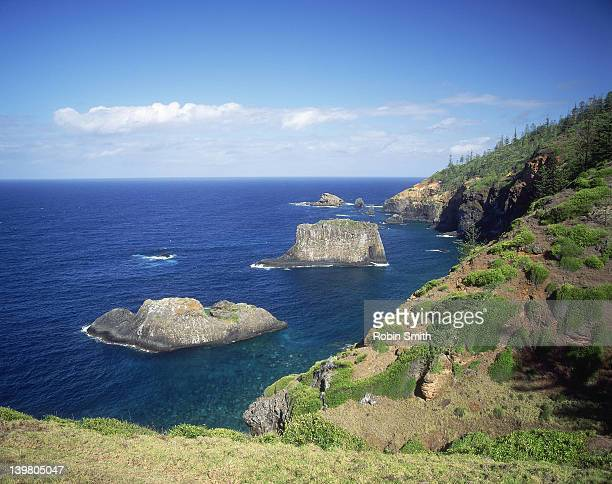 Coastal scene, Norfolk Island, New South Wales, Australia