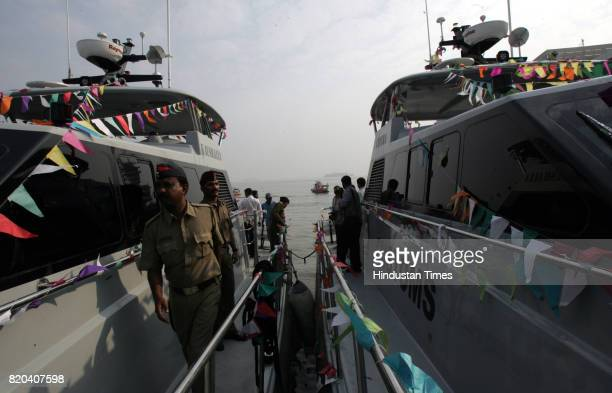 Coastal Security Central Board of Excise and Customs commissioned nine Customs Patrolling Vessels to be used by the department for patrolling...