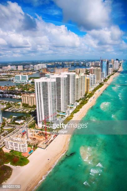 Coastal South Florida von oben
