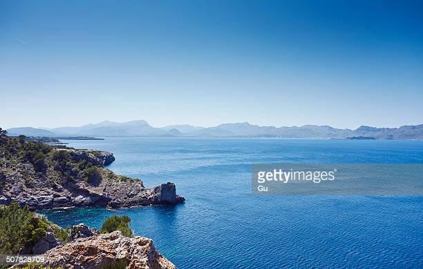 Coastal view, Majorca, Spain