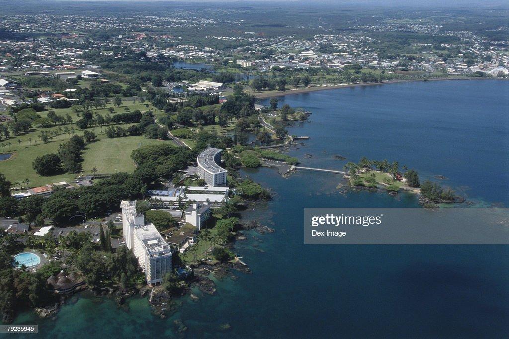 Coastal view of Big Island, Hawaii : Stock Photo