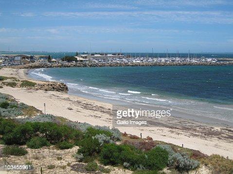 Coastal view of Fremantle, Western Australia, Australia : Stock Photo