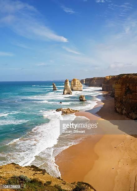 Coastal view of Twelve Apostles, Victoria, Australia