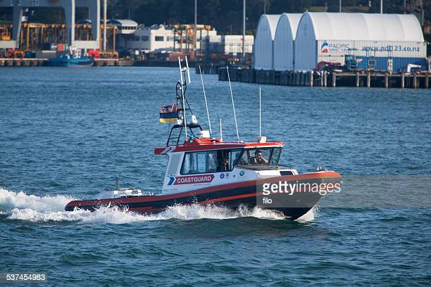 Coastguard New Zealand Patrol Boat