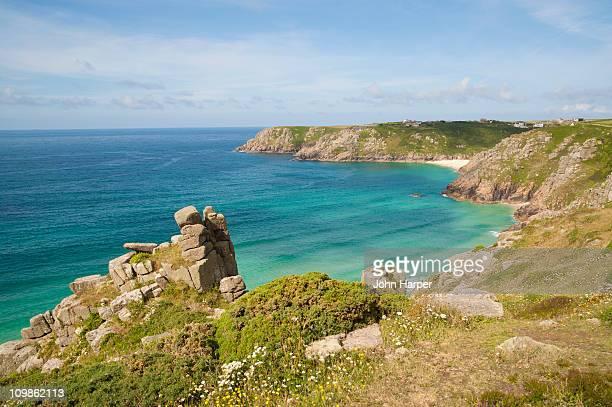 Coastline at Land's End, Cornwall