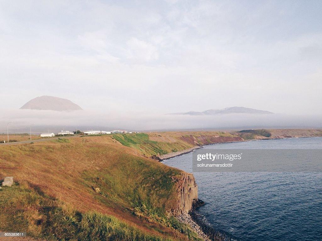Coastline, Hofsos, Skagafjordur, Iceland