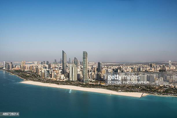 Coastline in Abu Dhabi