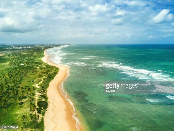 Küste in Brasilien, Bundesstaat Bahia