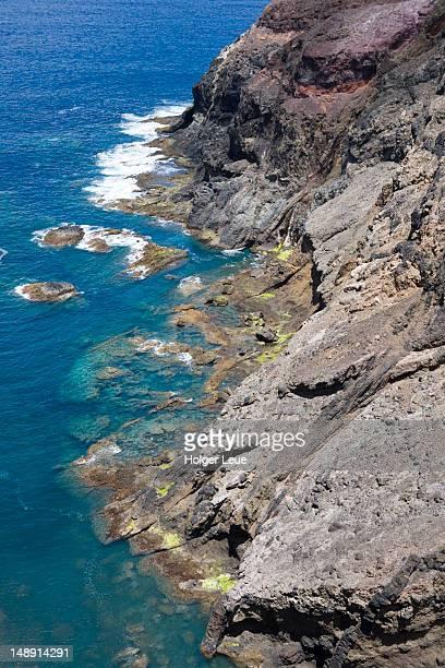 Coastline near Ponta de Canaveira.