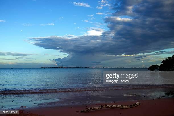 Coastline of Broome in Western Australia