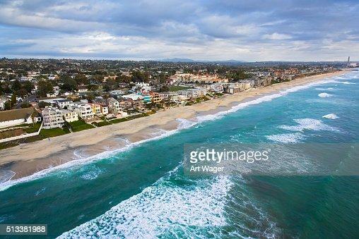 Coastline of Carlsbad California - San Diego