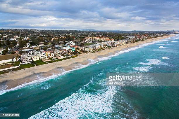 Coastline of Carlsbad California - San Diego