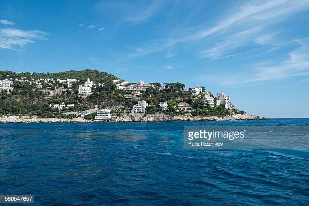 Coastline of Cote d'Azur