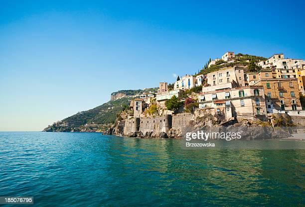 Küste von Minori (Kampanien und Amalfiküste, Italien