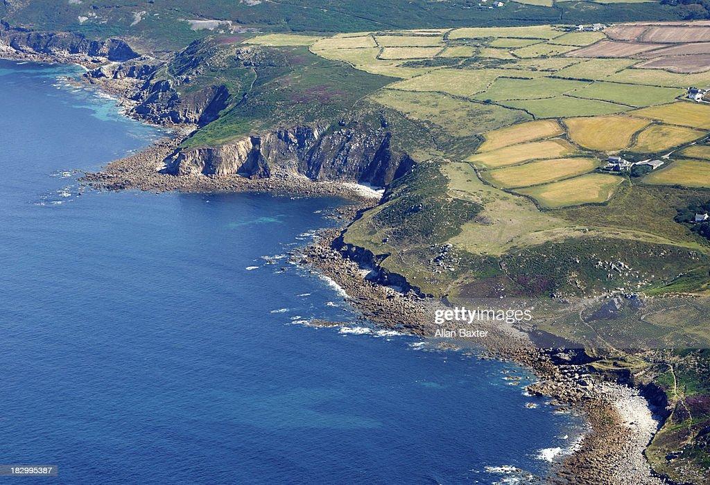 Coastline of North Cornwall : Stock Photo
