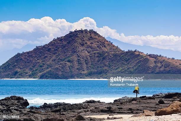 Coastline of Sumbawa island,Indonesia.