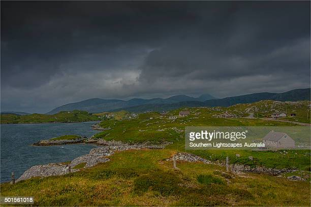 Coastline on the Isle of Lewis, Outer Hebrides, Scotland.