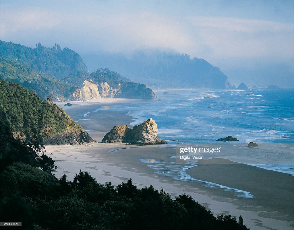 Coastline, Oregon, USA : Stock Photo