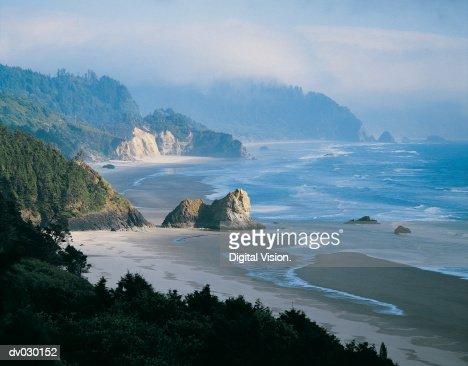 Coastline, Oregon, USA : Foto de stock