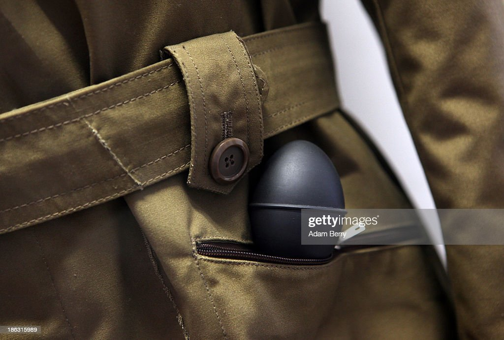 A coat featuring a hidden camera triggered by a pump in its pocket is displayed at the Stasi (Staatssicherheit), or East German Secret Police Museum, on October 30, 2013 in Berlin, Germany. German officials have maintained that they had strong evidence indicating that the American Nation Security Agency (NSA) has eavesdropped on Chancellor Angela Merkel's mobile phone, surveillance that the U.S. has since claimed is essential to its security operations and is standard procedure. The charge has caused a furor among political leaders across Europe, but is particularly troublesome to those who, like Merkel, grew up in the former East Germany and have recent memories of being spied upon by their own government. In response to anger over the matter from Germany, Mexico, France, Spain and Brazil ,the U.S. Senate Intelligence committee is currently conducting a major review of such surveillance operations, while the NSA insists that any such data collected on ordinary citizens turned over to the agency had been conducted by the local allied governments themselves.