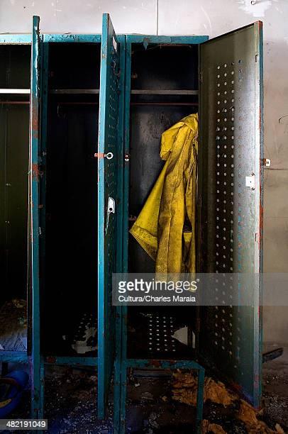 Coat in old lockers