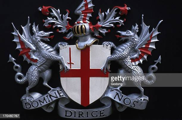 Coat of arms of the City of London London Great Britain